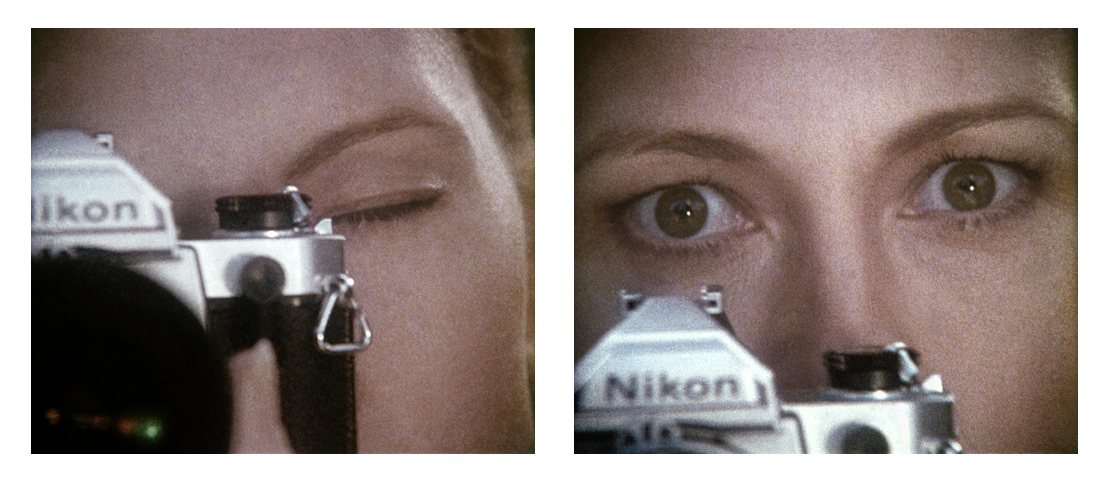Anne Collier, Woman with a Camera (35 mm, diptych), 2009. Inkjet print, 20⅜ × 24 inches. Courtesy of the artist; Anton Kern Gallery, New York; Galerie Neu, Berlin; The Modern Institute/Toby Webster Ltd., Glasgow; and Marc Foxx Gallery, Los Angeles. © Anne Collier Approved for limited use.